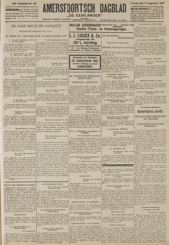 Amersfoortsch Dagblad / De Eemlander 1927-08-11
