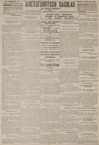 Amersfoortsch Dagblad / De Eemlander 1927-09-06