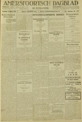 Amersfoortsch Dagblad / De Eemlander 1933-03-13