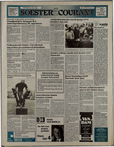 Soester Courant 1986-05-14