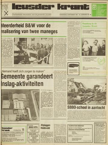 Leusder Krant 1983-09-08