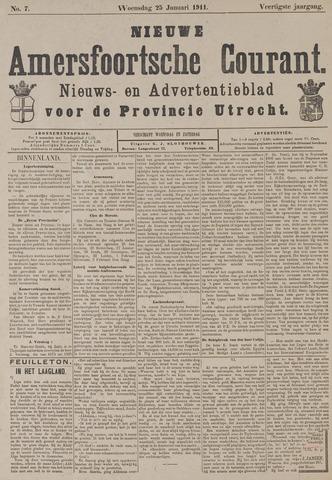 Nieuwe Amersfoortsche Courant 1911-01-25