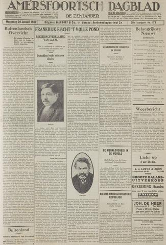 Amersfoortsch Dagblad / De Eemlander 1932-01-20