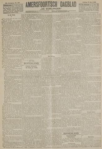 Amersfoortsch Dagblad / De Eemlander 1918-04-12