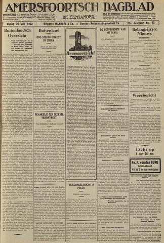 Amersfoortsch Dagblad / De Eemlander 1932-07-29