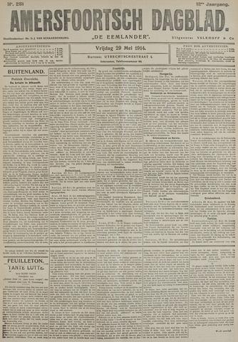Amersfoortsch Dagblad / De Eemlander 1914-05-29