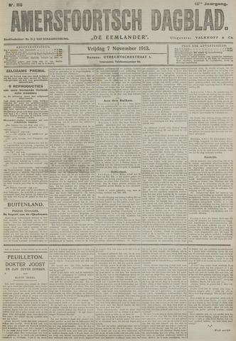 Amersfoortsch Dagblad / De Eemlander 1913-11-07
