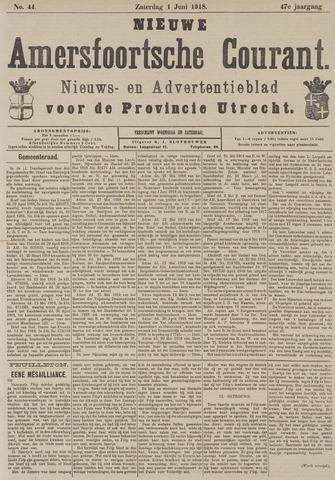 Nieuwe Amersfoortsche Courant 1918-06-01