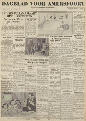 Dagblad voor Amersfoort 1947-02-19