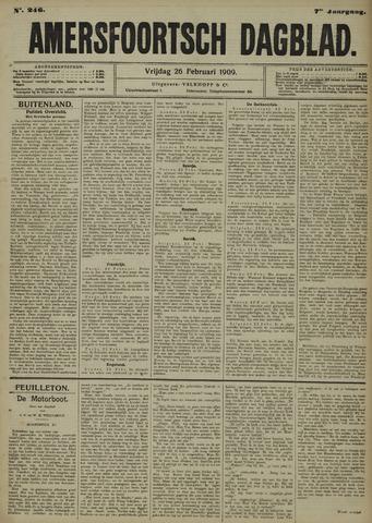 Amersfoortsch Dagblad 1909-02-26