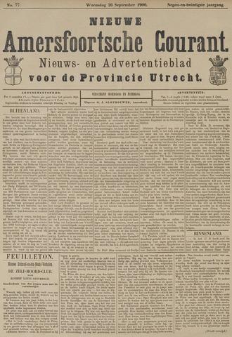 Nieuwe Amersfoortsche Courant 1900-09-26