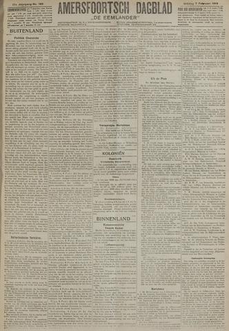 Amersfoortsch Dagblad / De Eemlander 1919-02-07