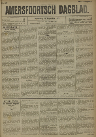 Amersfoortsch Dagblad 1911-08-28