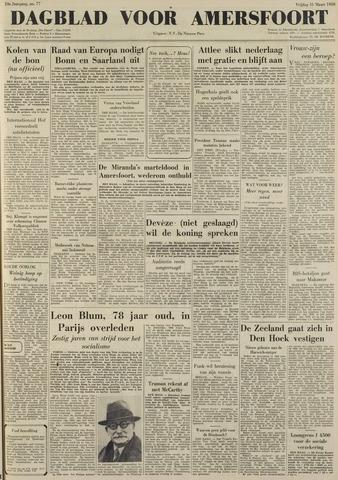 Dagblad voor Amersfoort 1950-03-31