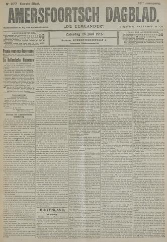 Amersfoortsch Dagblad / De Eemlander 1915-06-26