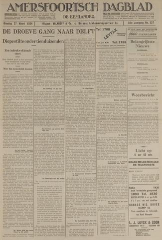 Amersfoortsch Dagblad / De Eemlander 1934-03-27