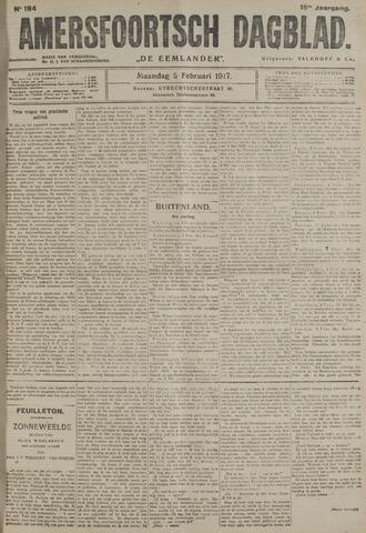 Amersfoortsch Dagblad / De Eemlander 1917-02-05