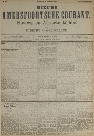 Nieuwe Amersfoortsche Courant 1885-12-16