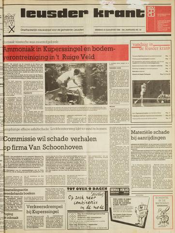 Leusder Krant 1988-08-23