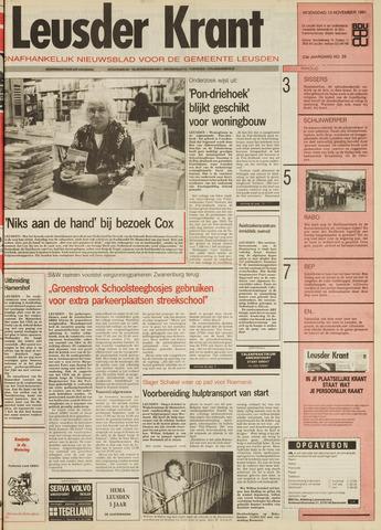Leusder Krant 1991-11-13