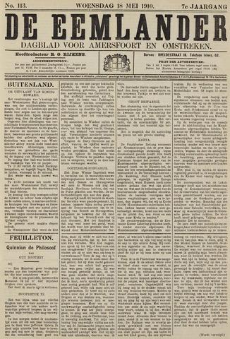 De Eemlander 1910-05-18