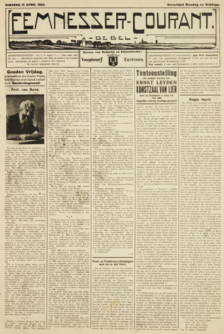 Eemnesser Courant 1924-04-15