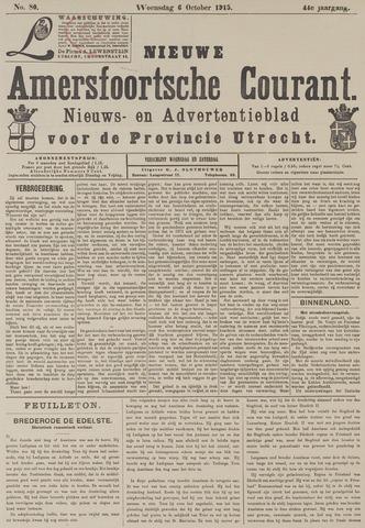 Nieuwe Amersfoortsche Courant 1915-10-06