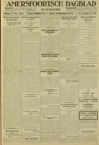 Amersfoortsch Dagblad / De Eemlander 1932-12-21