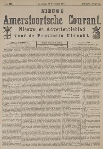 Nieuwe Amersfoortsche Courant 1911-12-30