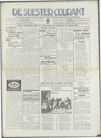 Soester Courant 1938-07-01