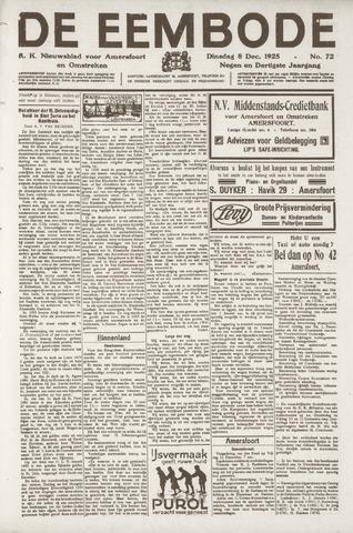 De Eembode 1925-12-08