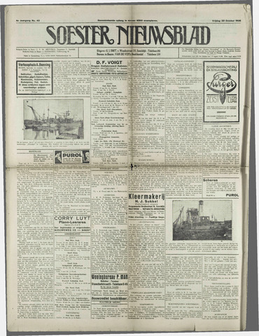 Soester Courant 1925-10-23