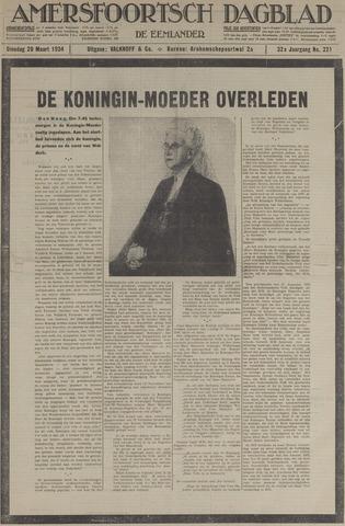 Amersfoortsch Dagblad / De Eemlander 1934-03-20