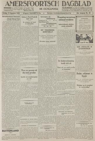 Amersfoortsch Dagblad / De Eemlander 1930-08-15