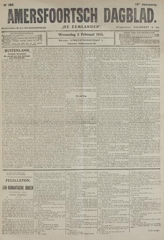 Amersfoortsch Dagblad / De Eemlander 1915-02-03