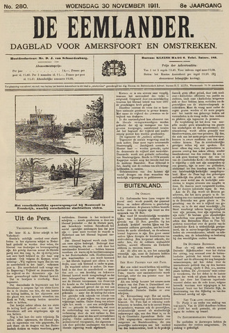 De Eemlander 1911-11-30