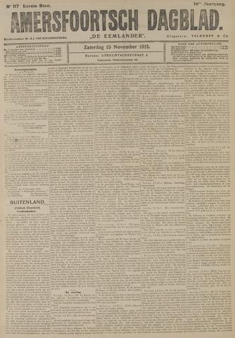 Amersfoortsch Dagblad / De Eemlander 1915-11-13