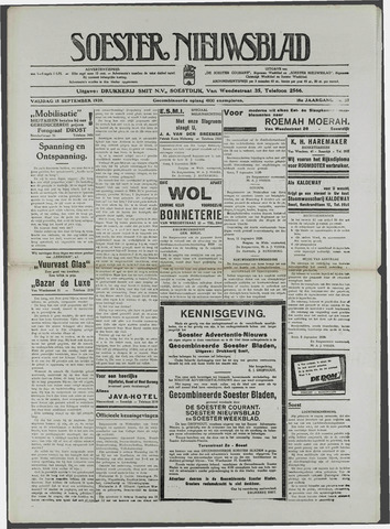 Soester Courant 1939-09-15