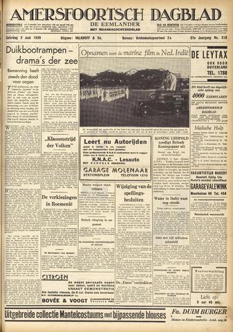 Amersfoortsch Dagblad / De Eemlander 1939-06-03