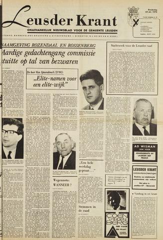 Leusder Krant 1970-10-29