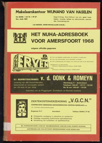 Adresboeken Amersfoort 1968