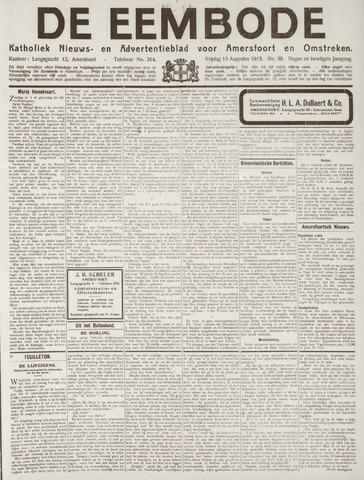 De Eembode 1915-08-13