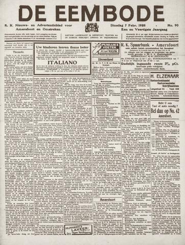 De Eembode 1928-02-07
