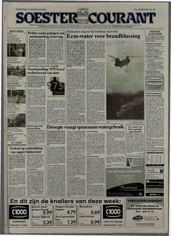 Soester Courant 2003-08-13