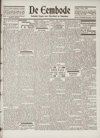 De Eembode 1934-02-02