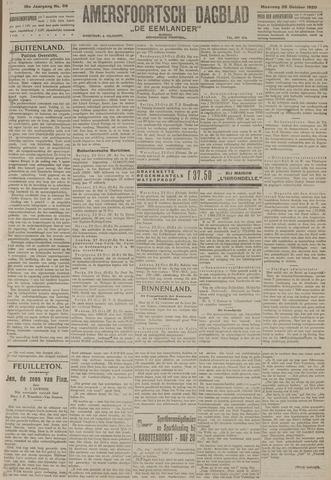 Amersfoortsch Dagblad / De Eemlander 1920-10-25