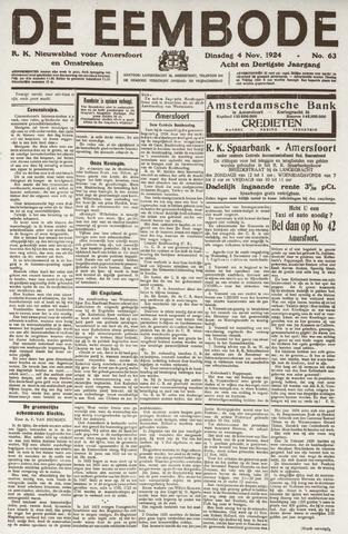 De Eembode 1924-11-04
