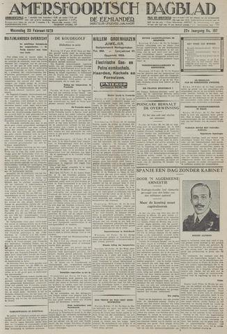 Amersfoortsch Dagblad / De Eemlander 1929-02-20