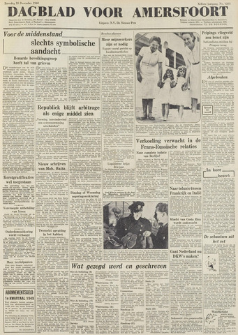 Dagblad voor Amersfoort 1948-12-18