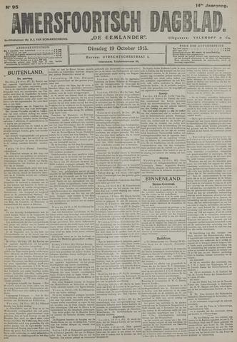 Amersfoortsch Dagblad / De Eemlander 1915-10-19